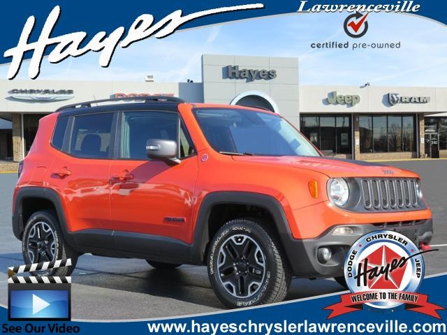 Certified Pre Owned 2016 Jeep Renegade Trailhawk