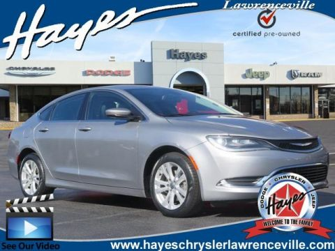 CERTIFIED PRE-OWNED 2016 CHRYSLER 200 LIMITED FWD 4D SEDAN