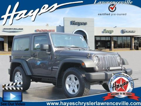 Certified Pre-Owned 2014 Jeep Wrangler Sport