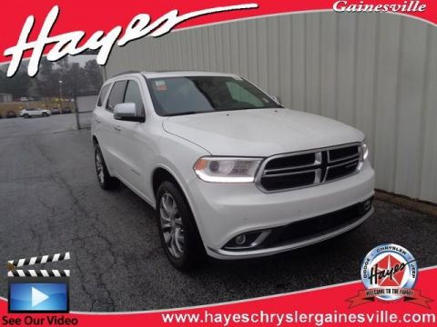 NEW 2018 DODGE DURANGO CITADEL ANODIZED PLATINUM AWD