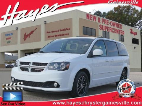 CERTIFIED PRE-OWNED 2017 DODGE GRAND CARAVAN GT FWD 4D PASSENGER VAN