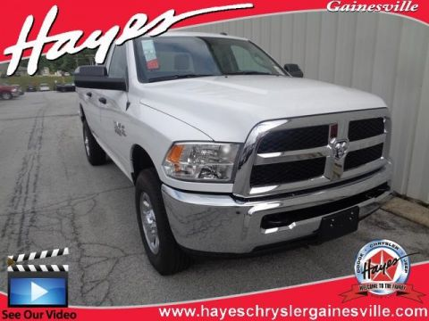 "NEW 2018 RAM 2500 TRADESMAN CREW CAB 4X4 6'4"" BOX"
